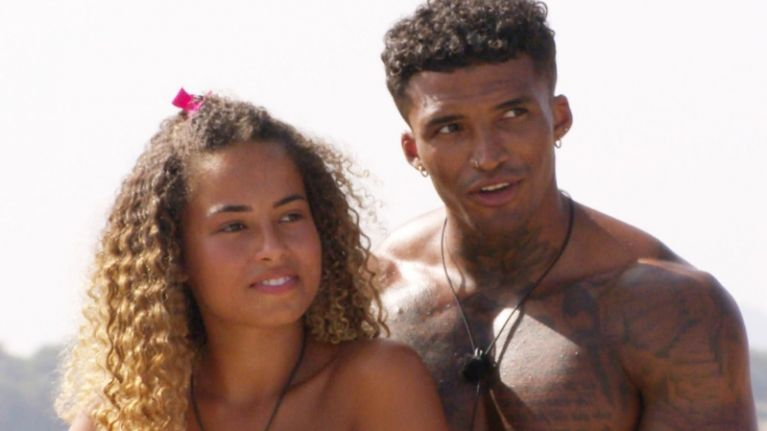 Did you catch the moment Michael openly checked out Amber on last night's Love Island?