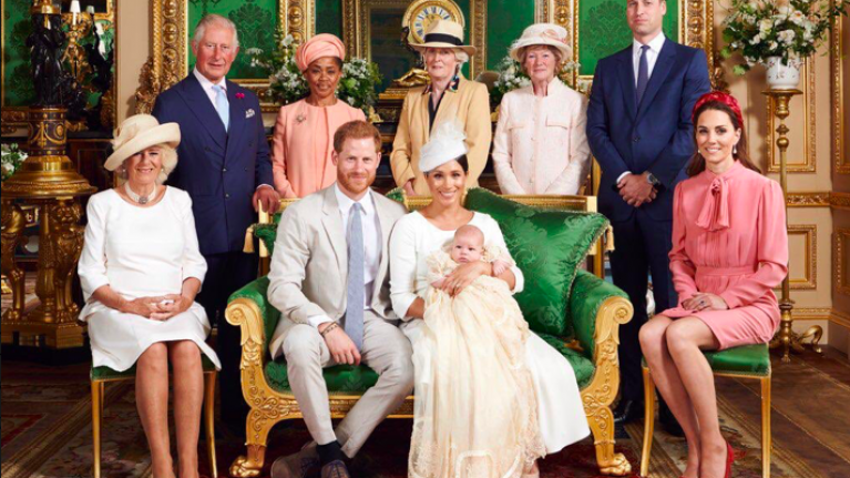 Everyone's saying the exact same thing about Prince William in Archie's christening photo