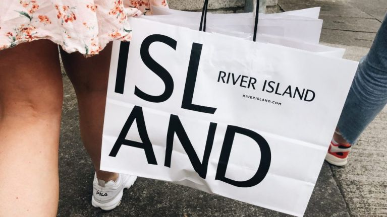 This flattering River Island dress is just €40 and what a bargain
