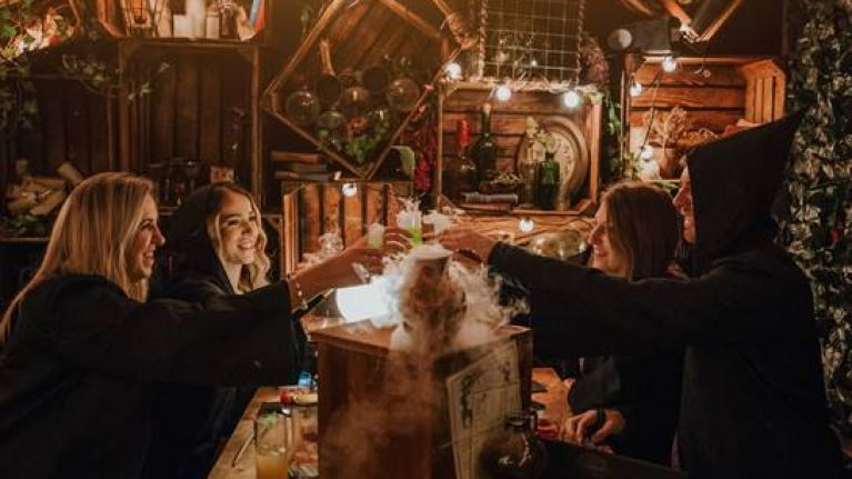 We went to Dublin's Harry Potter bar and it was, well, magical!