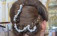 Hairstylist Larry King tells us how to recreate this stunning look from Couture Fashion Week