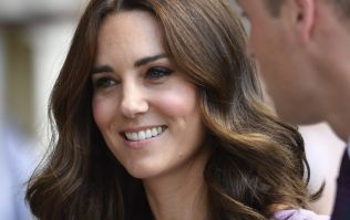 Kate Middleton is wearing the most STUNNING blue dress at Wimbledon right now