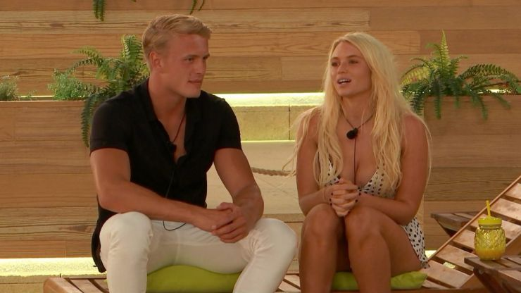 Love Island's George let slip his real feelings for Lucie and it's not looking good