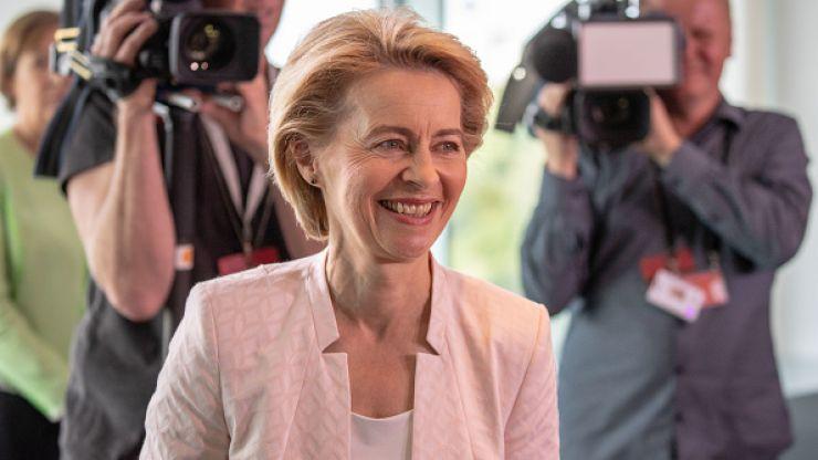 EU nominates its first female president of the European Commission in Ursula von der Leyen