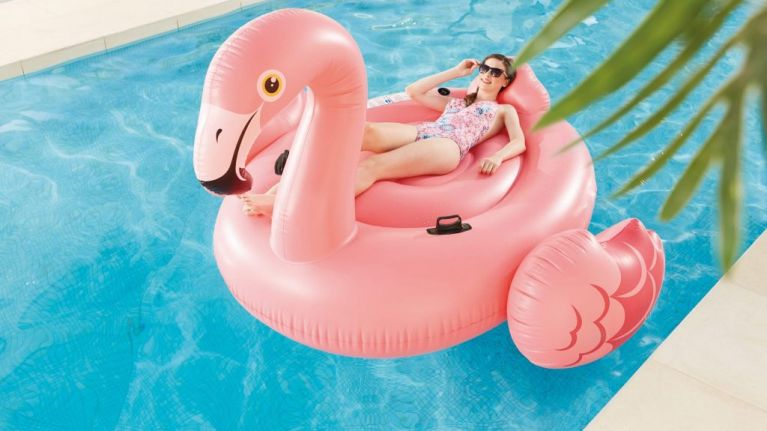 Aldi is selling a giant flamingo pool float for €25, and wow we need it