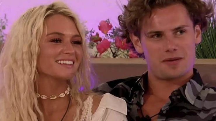 Lucie Donlan and Joe Garratt reunited on Love Island Aftersun and we're BAWLING