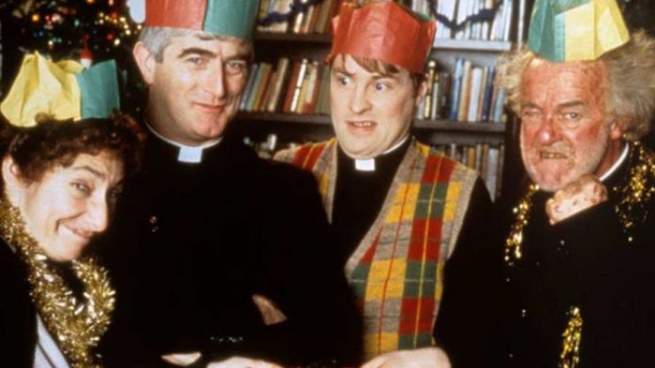 This Irish pizza company is hosting a 'Small, Far Away' Father Ted Day
