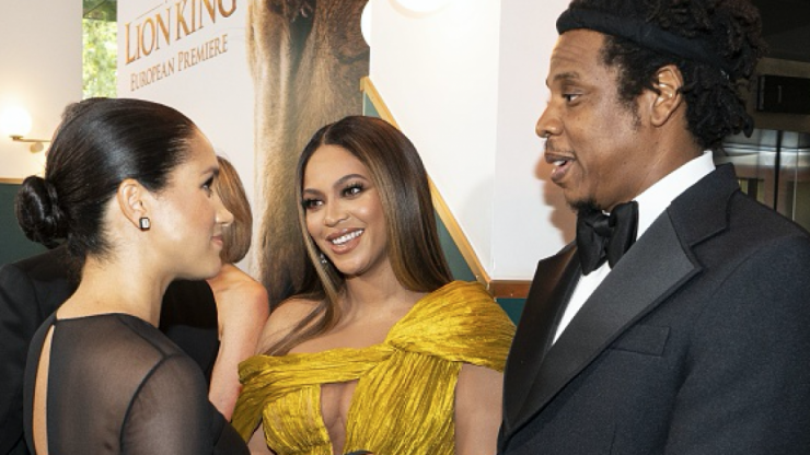Turns out Beyoncé was absolutely bricking it about meeting Meghan Markle