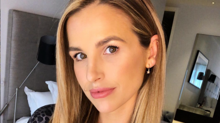 Vogue Williams has hit back at a troll who told her to 'get her boobs done'