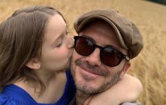 'Please stop growing up': David Beckham shares sweet message as Harper turns 8