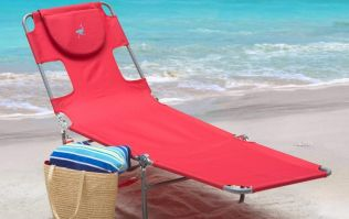 Amazon is selling a chair which will make reading on the beach SO much easier