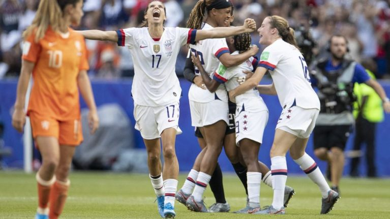The social media reaction to the Women's World Cup was phenomenal