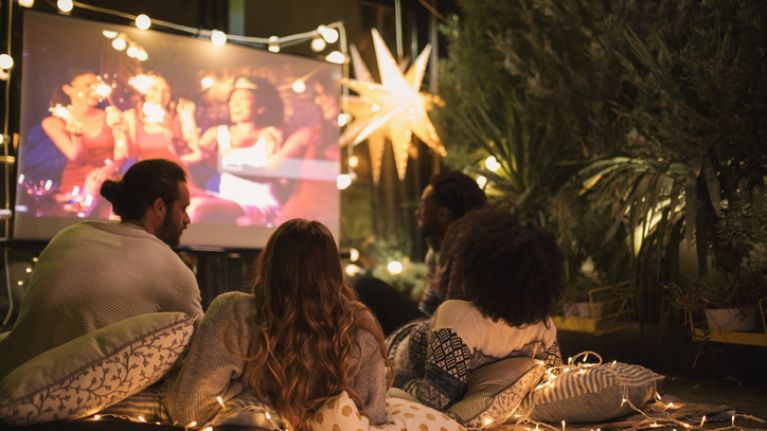There's no place like home. The 8 must-haves for the perfect summer home movie night