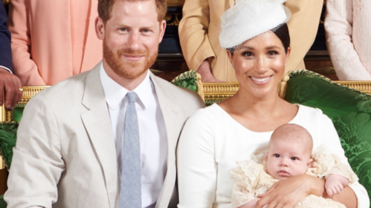 Harry and Meghan technically don't have official custody of baby Archie