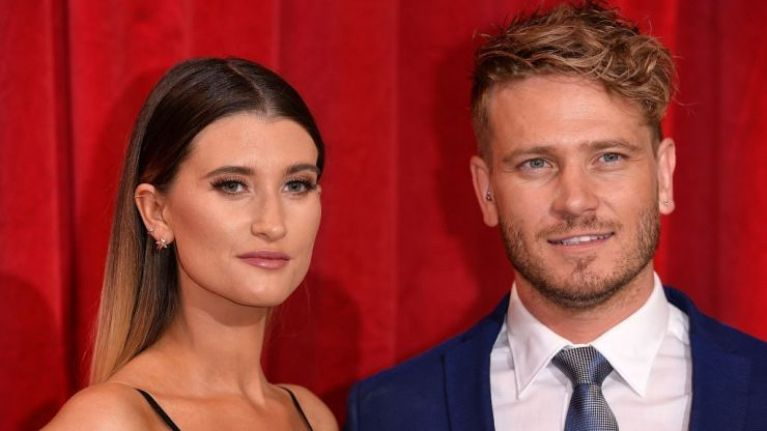 Emmerdale's Charley Webb confirms she has officially begun maternity leave
