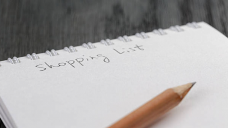 Wife gives her husband a fake shopping list with imaginary items and we can't stop laughing