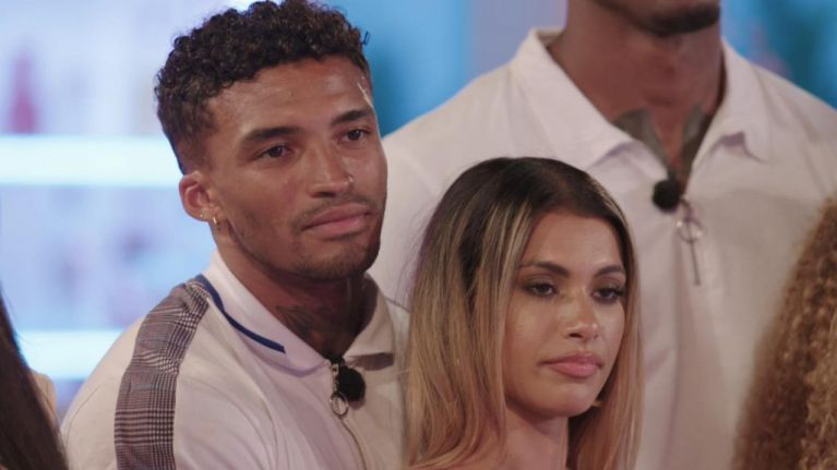 Love Island's Joanna had a BRILLIANT reaction to Amber rejecting Michael