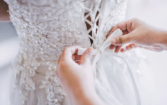 Bride shares how she managed to get her dream wedding dress for less than €40