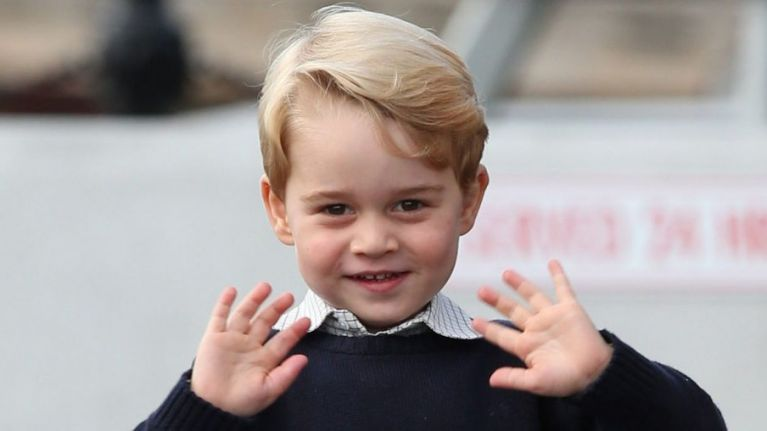 Prince George is jetting away to a private island for his birthday