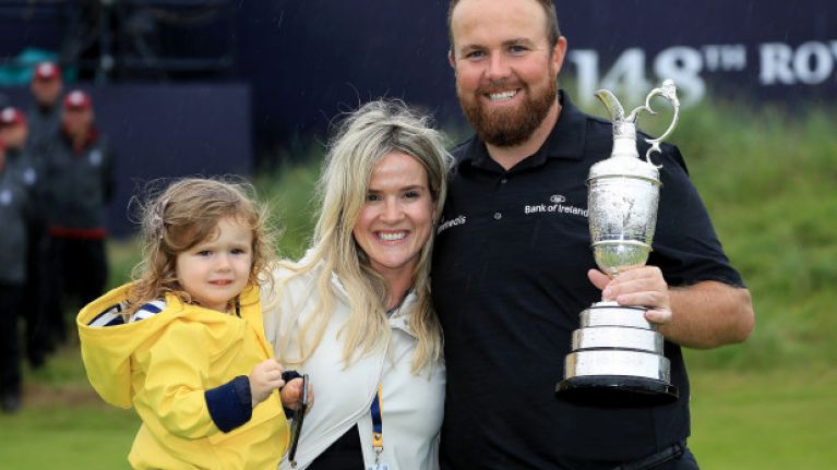 Saints, smiles and adorable scenes as Shane Lowry wins his first major tournament