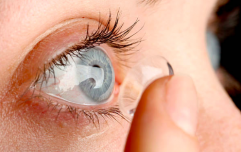 A contact lens that lets you zoom in when you blink twice has been invented