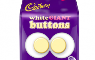 Cadbury is finally releasing WHITE chocolate giant buttons and OMG, yum