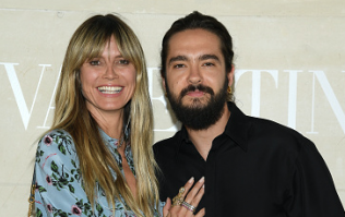 Heidi Klum just shared the first photo of her wedding dress and we can't stop staring