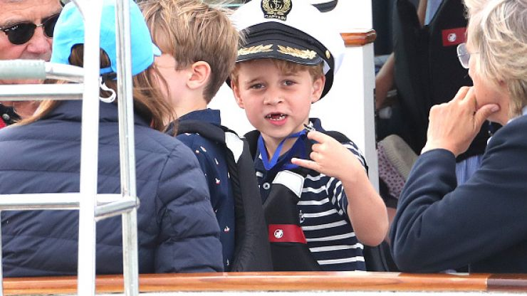 Our hearts! Prince George completely stole the show at Kate and William's event today