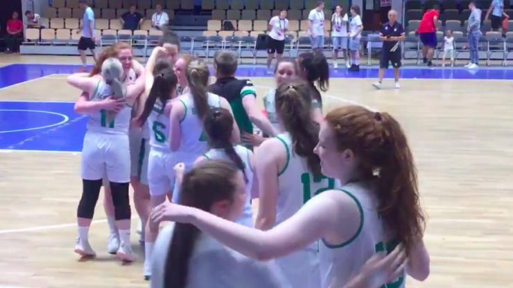 Ireland U-20 women's basketball team ecstatic as brilliant display gets them to semis