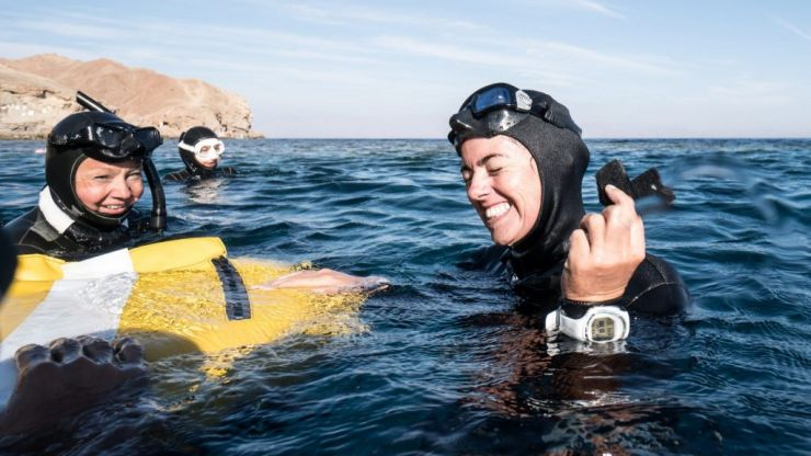 'I'm gonna take the reins back on my life' Claire Walsh on the art of freediving