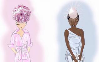 We are in AWE of this illustrator's stunning take on Ladies' Day winner Pamela Uba
