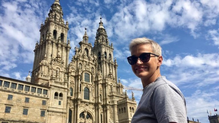 My Camino with Maria Walsh Day 2: Starting out in Santiago de Compostela