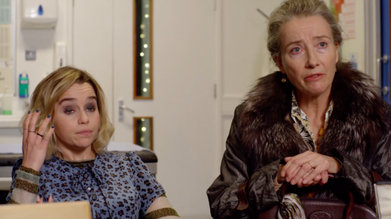 WATCH: Emilia Clarke and Emma Thompson team up for the biggest romantic comedy of 2019