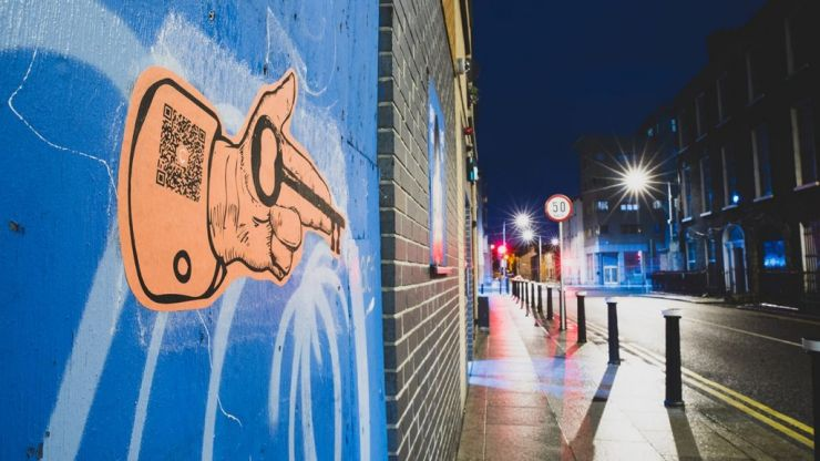 Brightly coloured street art is popping up throughout The Liberties and we're intrigued