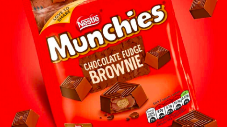Munchies release new chocolate fudge brownie flavour and we are drooling uncontrollably