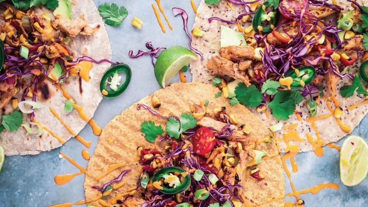 These vegan and gluten-free fajitas are everything we need for a Friday night feast