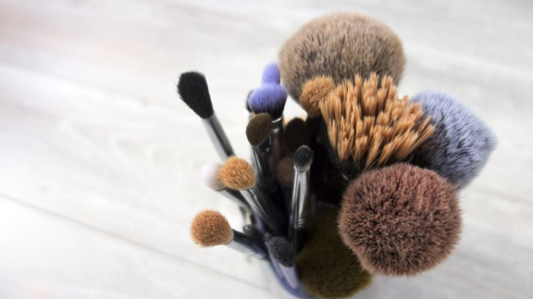 The simple make-up brush cleaning hack that will save you SO much time