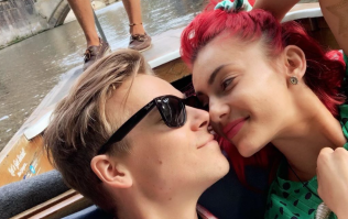 'I said yes': Joe Sugg and Dianne Buswell move in together after eight months