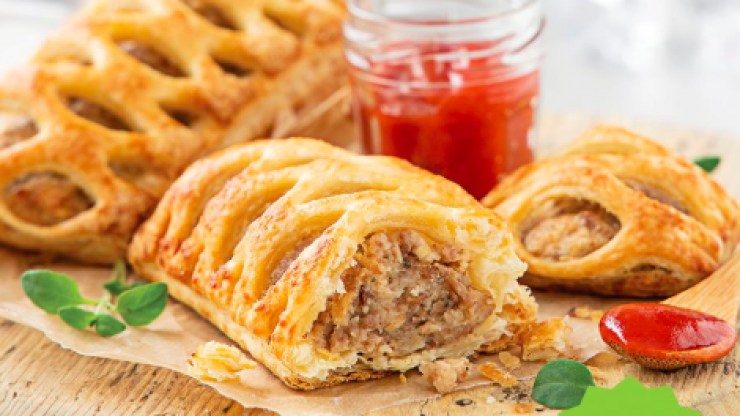 Centra now have an entire vegan deli range with giant sausage rolls and jambons