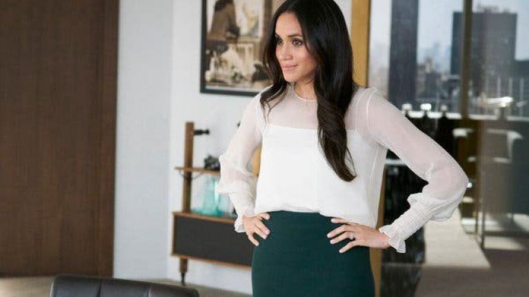 Suits just fully made a joke about Meghan Markle becoming a Duchess