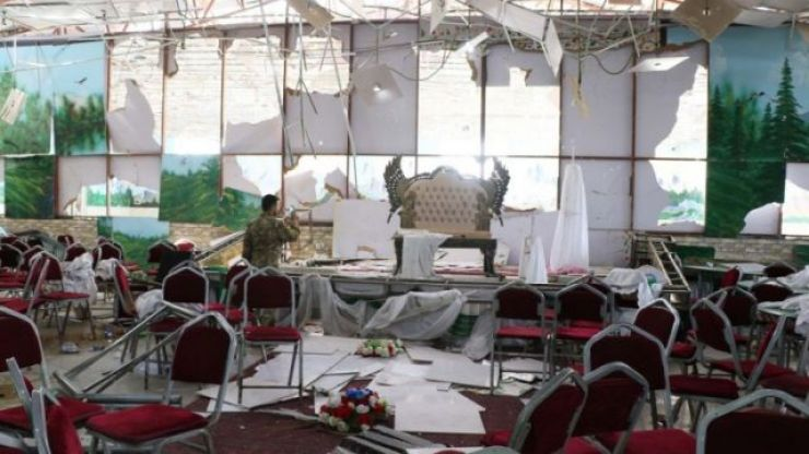 Over 60 people have been killed after a suicide bomb attack at a wedding in Kabul