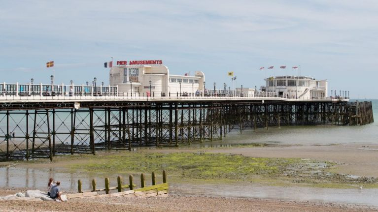 Pier evacuated after 'chemical spill' left people vomiting and with sore eyes in UK