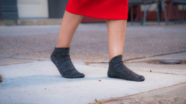 FINALLY! Reinforced sole socks mean you'll never have sore feet on a night out again