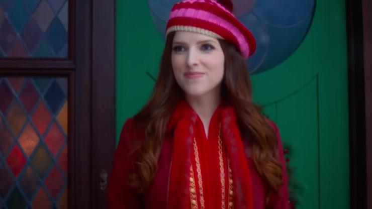 First look at Disney Christmas movie where Anna Kendrick plays Santa's daughter
