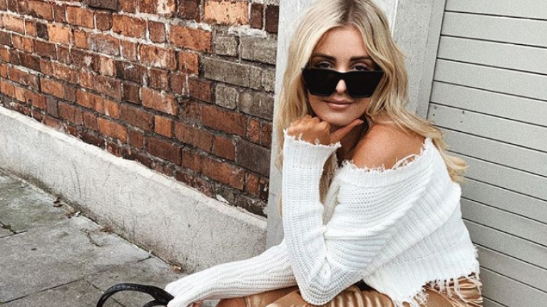 We're totally obsessed with Louise Cooney's €55 ASOS dress
