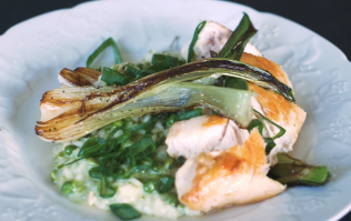 Kevin Dundon's risotto dinner is the stuff of veggie (and meat-eater!) dreams