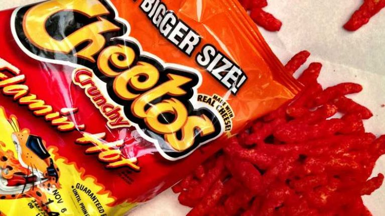 There is a movie coming about Flamin' Hot Cheetos because... sure, why not