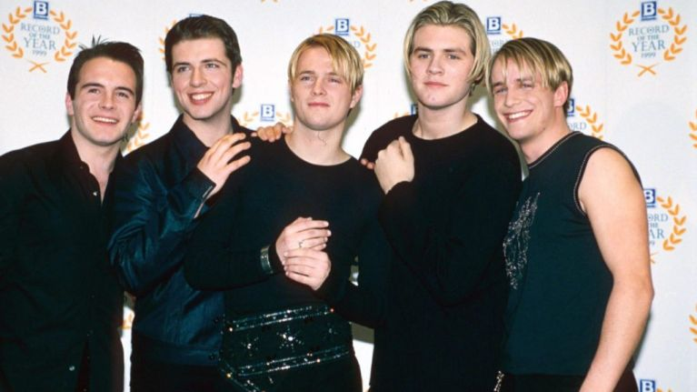 Nicky Byrne shared the 'first ever' picture of Westlife and nah, what a throwback