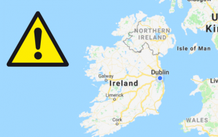 Met Éireann has issued a weather warning for ten counties