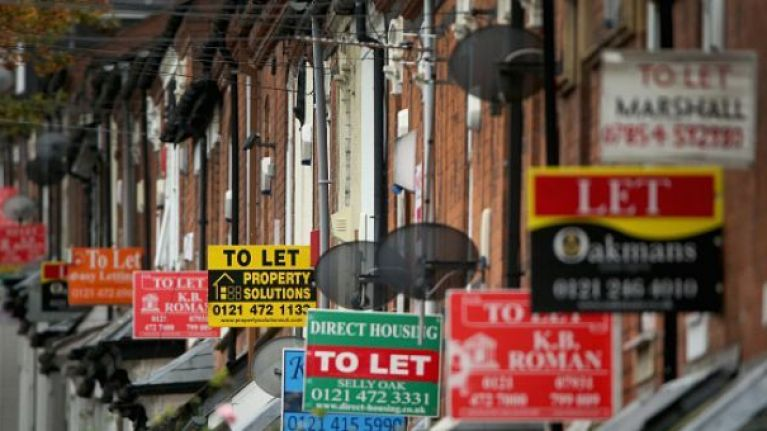 The average nationwide rent hits a record high of €1,391 per month